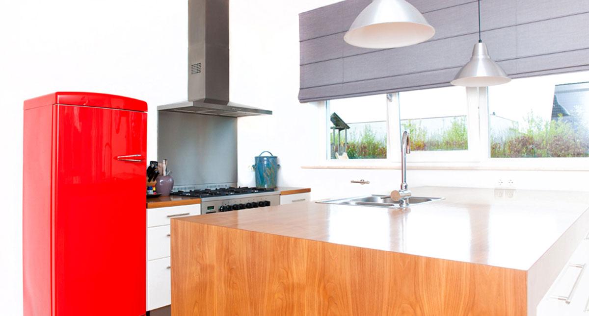Moderne houten keuken jonathan garbutt